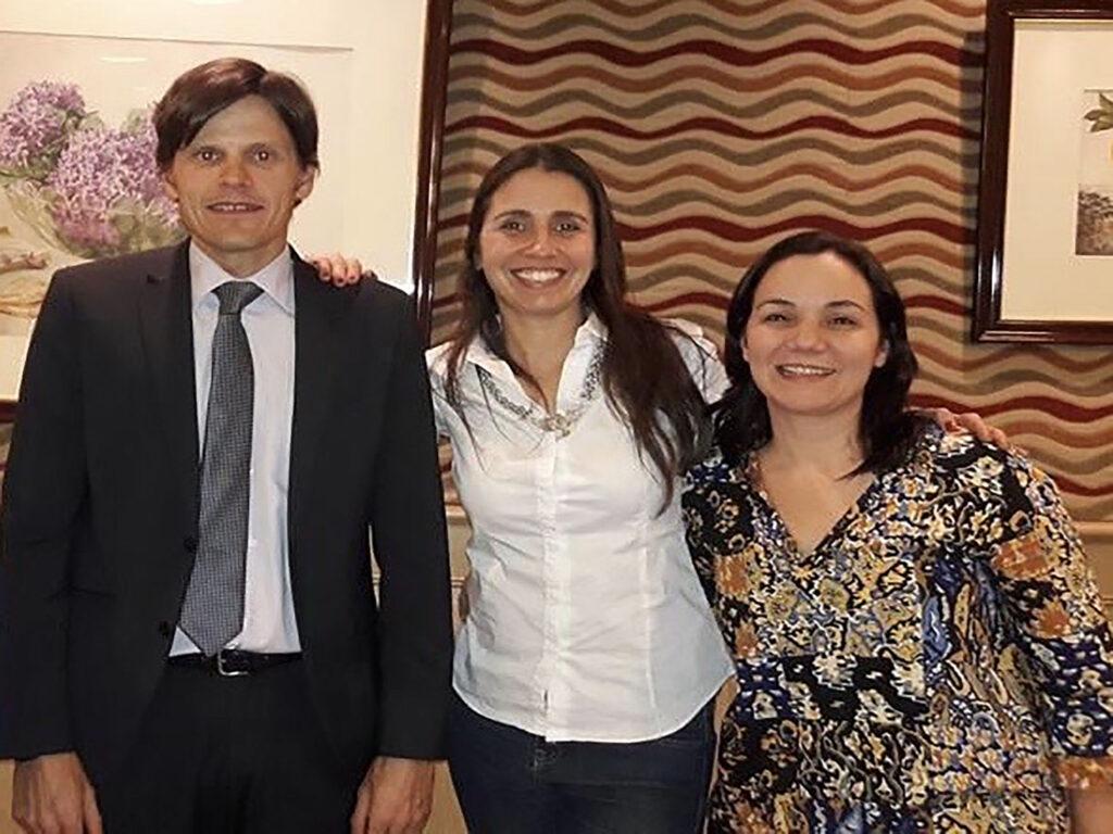 Javier Rubio de Pearson España, María Girado, Lorena Beitia. Capacitación Bayley – 2016